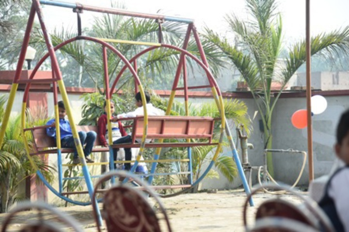Vivekanand International Public School garden