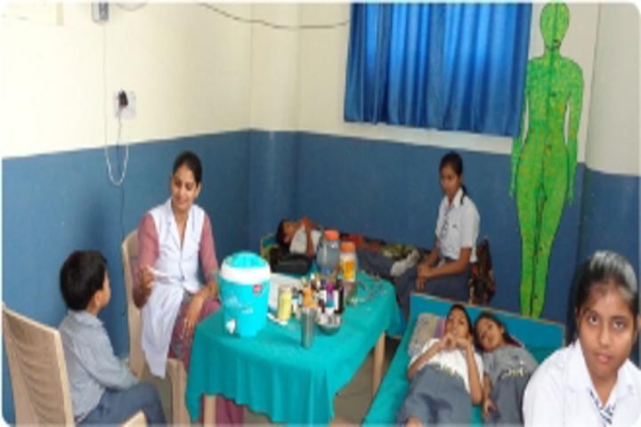 Vivekanand International Public School medical facility