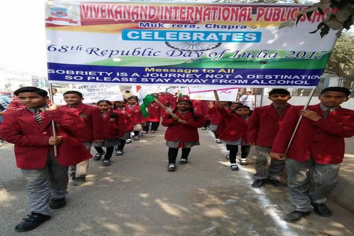 Vivekanand International Public School republic day celebration