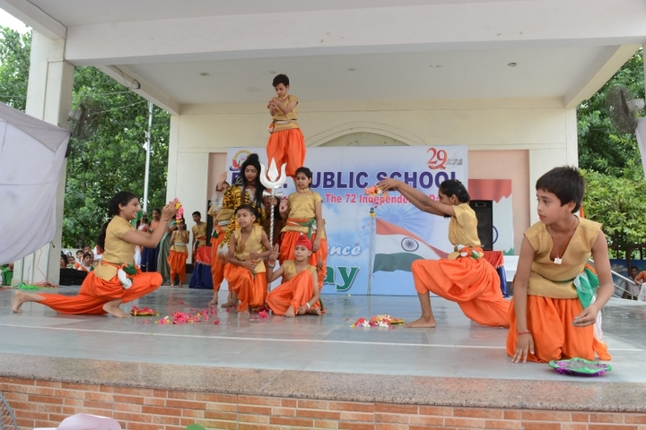 R A N Public School-Independence day Celebration