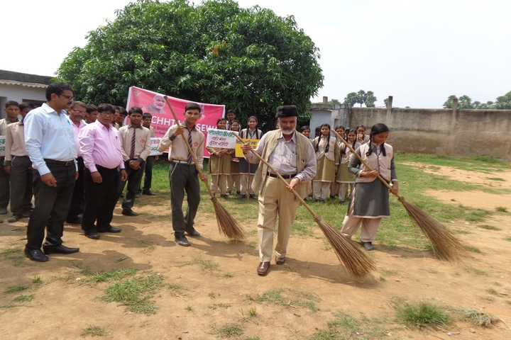 Vivekanand Mission School-Cleaning