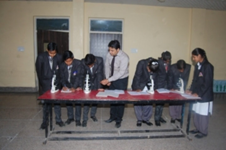 R K Public School-biology lab