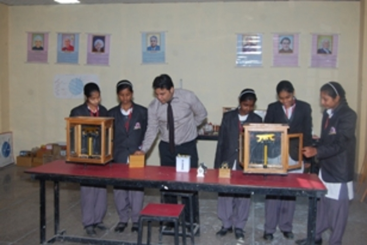 R K Public School-physics lab