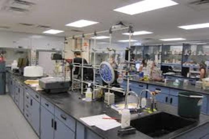 R N International School-Chemistry Lab