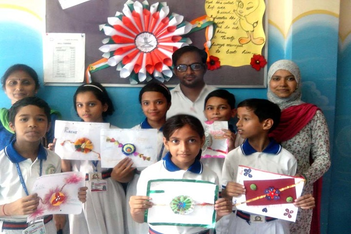 R S Excel English Academy-Rakhi Competition