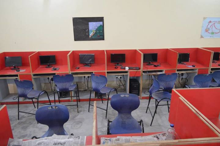 RS Excel English Academy-Computer Lab