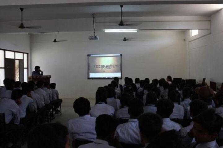 R S Global School-AV Room