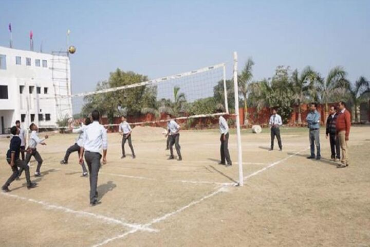 R S Global School-Volley Ball Court