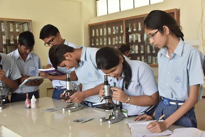 R V Public School-Biology Lab