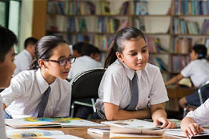 R B Childrens Valley School-Library
