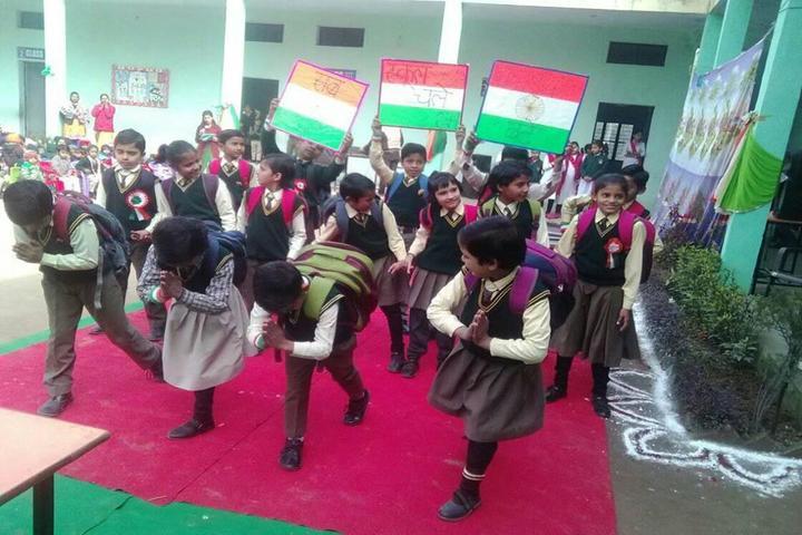 R G Public School-Patriotic Day