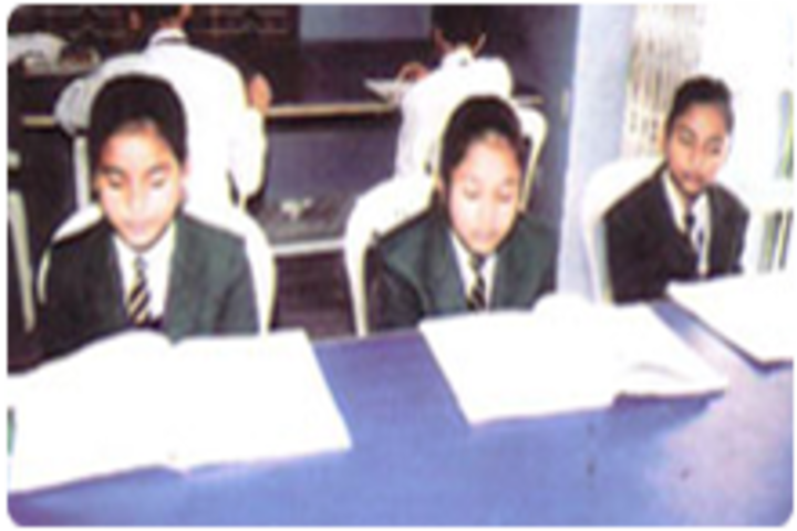 R N Tagore Senior Secondary School-Library