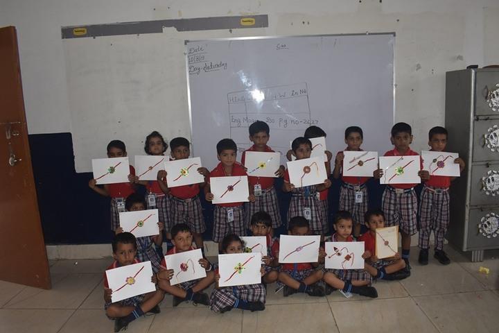 Radha International Academy-Rakhi Making Competition