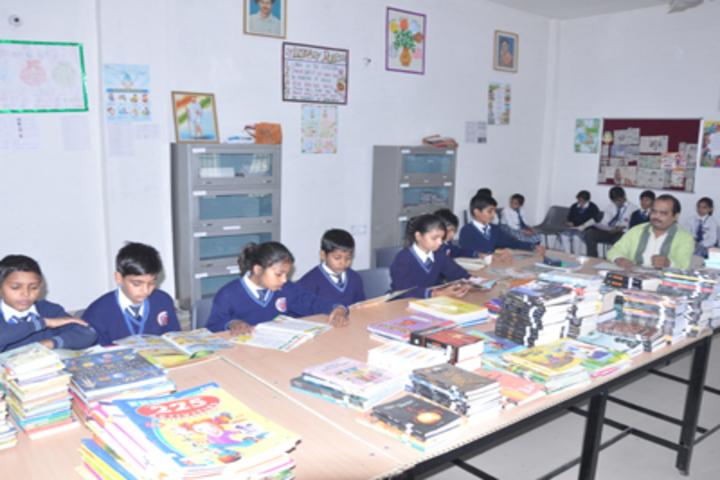 Radha International Academy-Library