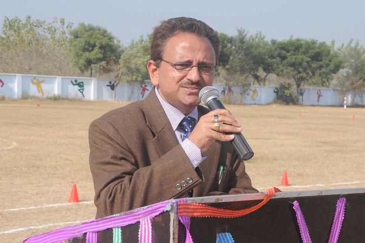 Radha Madhav Public School-Speech