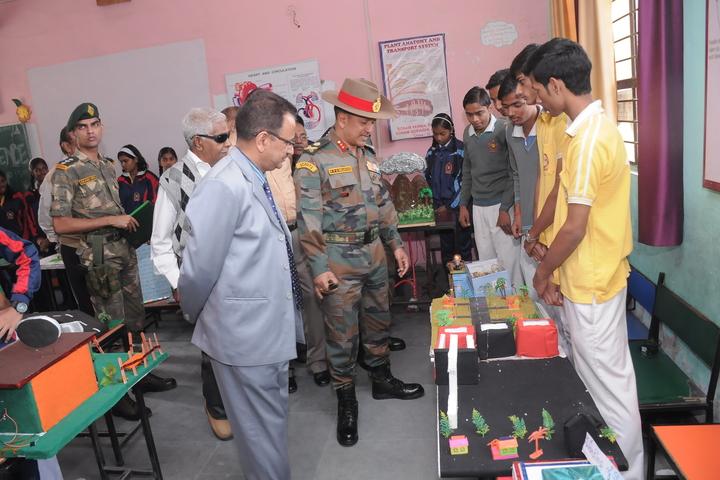 Radha Madhav Public School-Exhibition