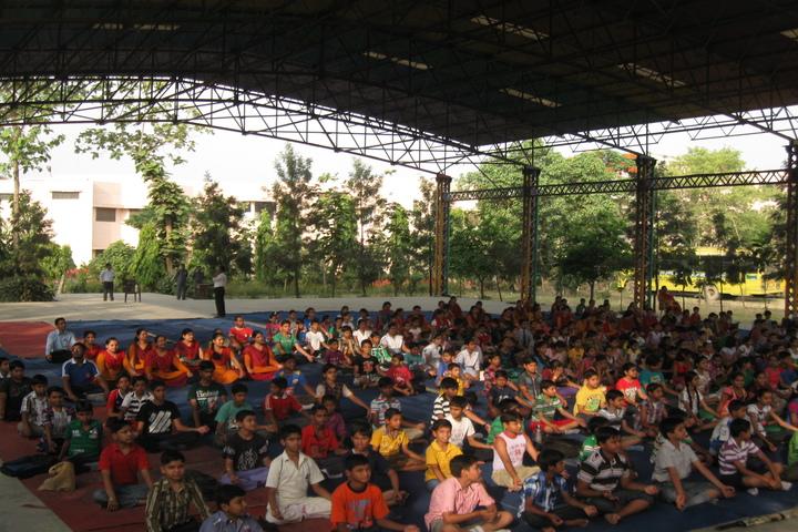 Radha Madhav Public School-Yoga