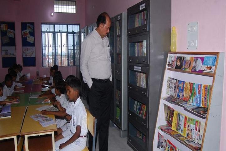 Radhika Bal Vidya Mandir-Library