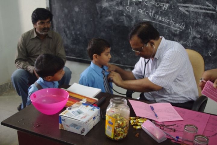 Radhika Senior Secondary School-Annual Health Camp