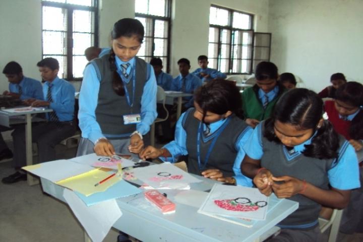 Radhika Senior Secondary School-Art and Craft Room