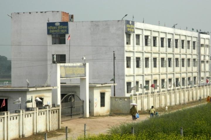 Radhika Senior Secondary School-Building
