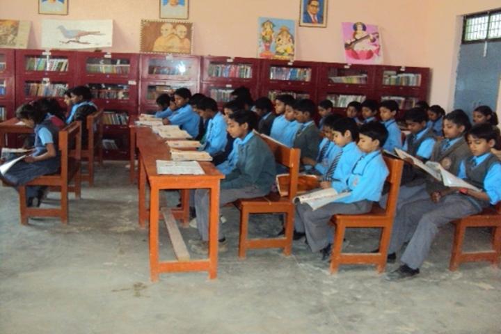 Radhika Senior Secondary School-Library