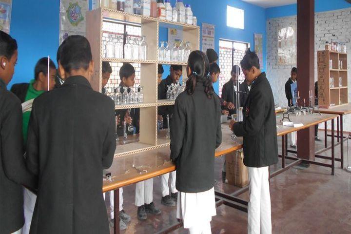 Rafi Memorial English School-Science Labs