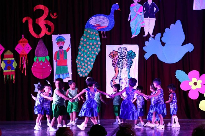 Aanchal international school-annual day