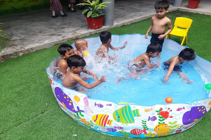 Sri Raghukul Vidya Peeth-Pool Party