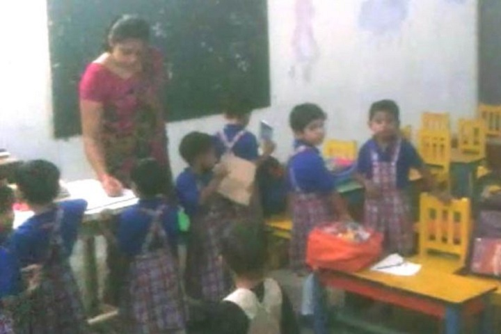 Sri Raghukul Vidya Peeth-Pre Primary Activity