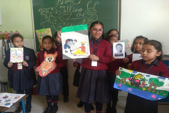 Ajit Karam Singh International Public School-Art