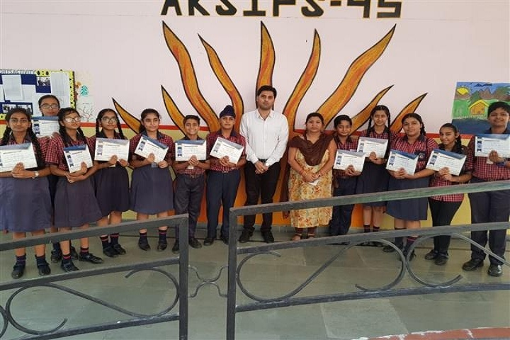 Ajit Karam Singh International Public School-Prizes