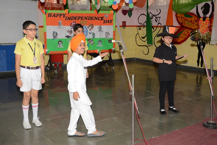 Ajit Karam Singh International Public School-Skit