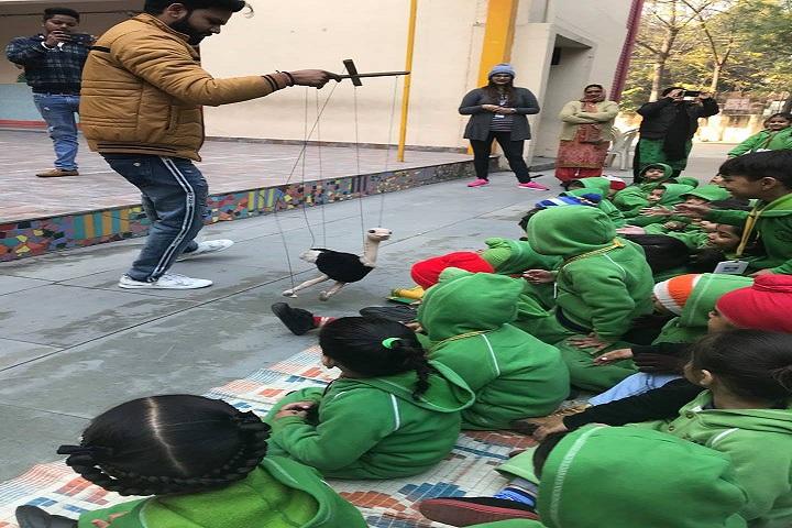 Ashiana Public School-puppet show