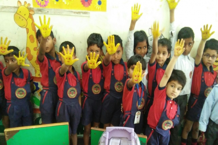 Ram Prasad Bismil Memorial Public School-Yellow Day Activity