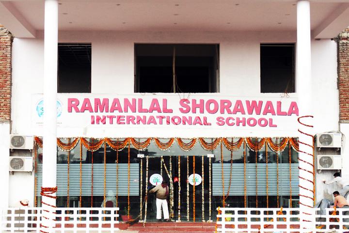 Ramanlal Shorawala International School-School Entrance