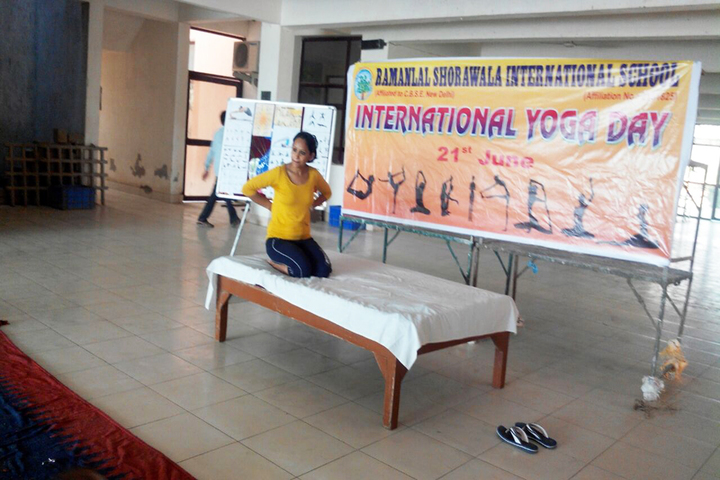 Ramanlal Shorawala International School-Yoga