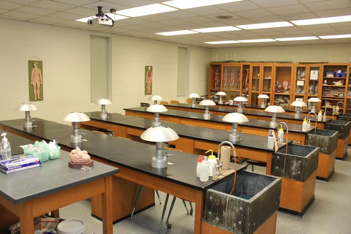 Ramsakhi Ram Niwas Convent School-Biology Lab