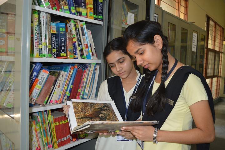 Ramsakhi Ram Niwas Convent School-Library