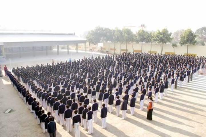 Rani Laxmi Bai Memorial Senior Secondary School-Assembly
