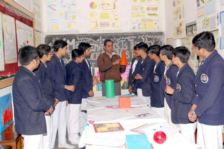 Rani Laxmi Bai Memorial School-Maths Lab