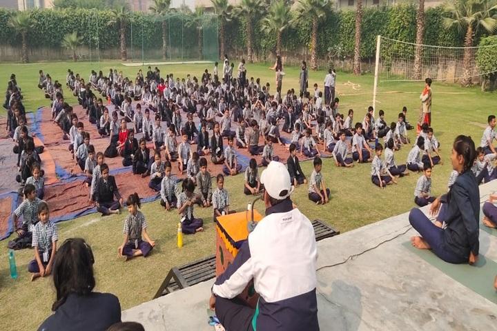 Rao Kasal Public School-Yoga Day