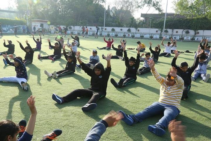 Chitkara International School-Yoga
