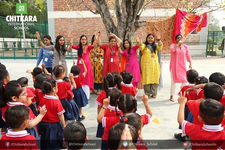 Chitkara International School - baisakhi celebrations