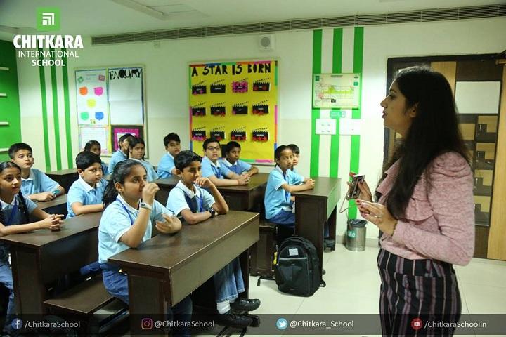 Chitrakala international school-guest lecture