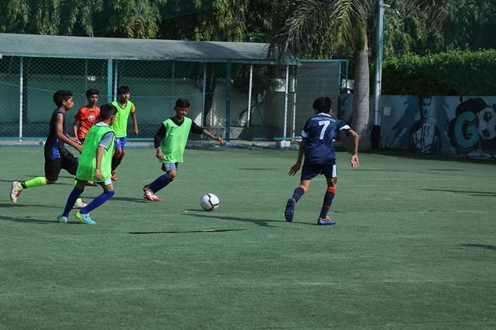 Chitrakala international school-volley ball