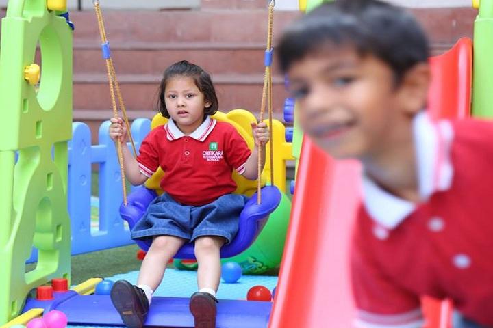 Chitrakala international school-playing games
