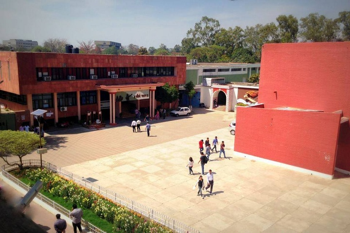 D A V College-Campus View