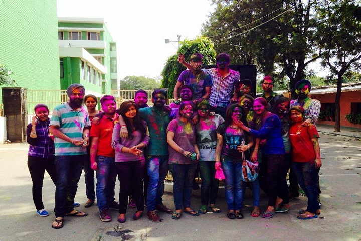 D A V College-Holi Celebrations