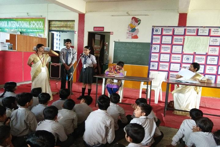 Rishikul International School-recitation competition